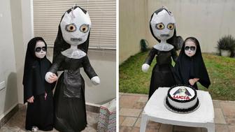 girl-the-nun-3rd-birthday-party-theme
