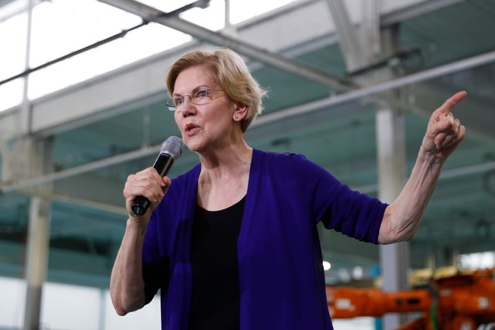 Elizabeth Warren was in Detroit this week to talk manufacturing and send a message about where she thinks she can win.