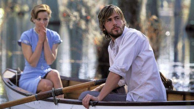 Noah (Ryan Gosling) em cena de