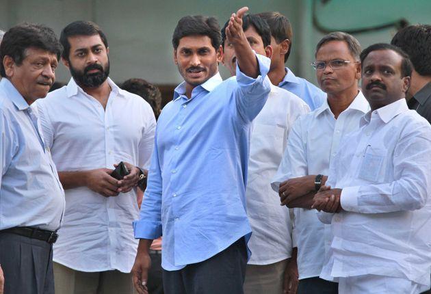 Andhra Pradesh CM Jaganmohan Reddy in a file