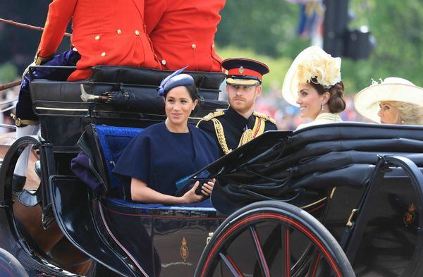 It was the Duchess of Sussex's first royal engagement since the birth of her son.