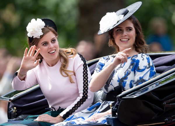Princess Eugenie and Princess Beatrice.