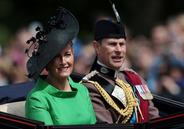 Prince Edward and Sophie, Countess of Wessex.