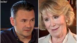 Esperanza Aguirre deja sin palabras a Iñaki López ('LaSexta Noche') con esta frase sobre Pedro