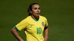 Confirmado: Marta está fora da estreia do Brasil na Copa do