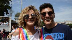 Il primo gay pride da sposate di Eva e Imma: