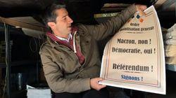 Ruffin montre comment il espère transformer le RIP sur ADP en référendum