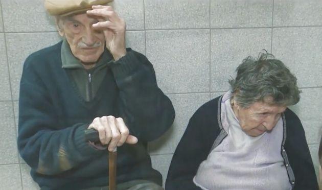 Los dos ancianos desahuciados abandonados por su