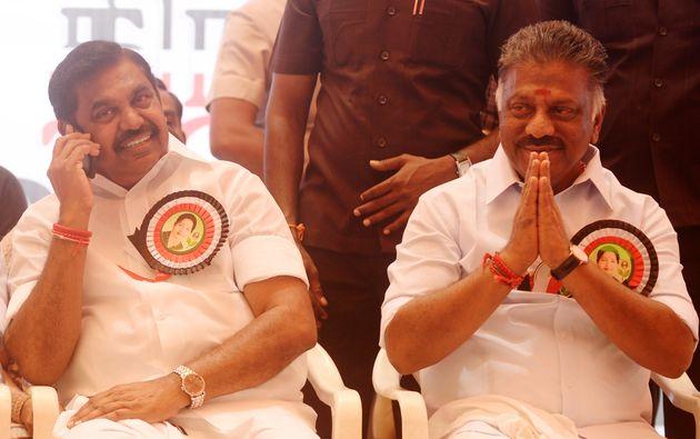 Tamil Nadu Chief MinisterEdappadiPalaniswami and Deputy CM OPanneerselvam in a file