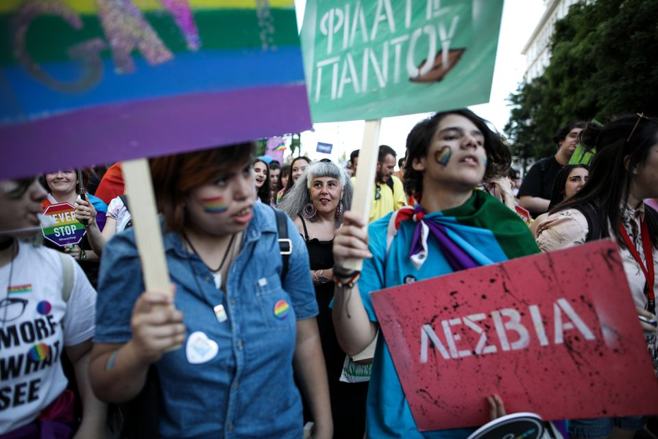 «Ο δρόμος έχει τη δική μας ιστορία». Γέμισε χρώματα η πρωτεύουσα για το Athens Pride