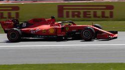 Vettel en pôle au Grand Prix du