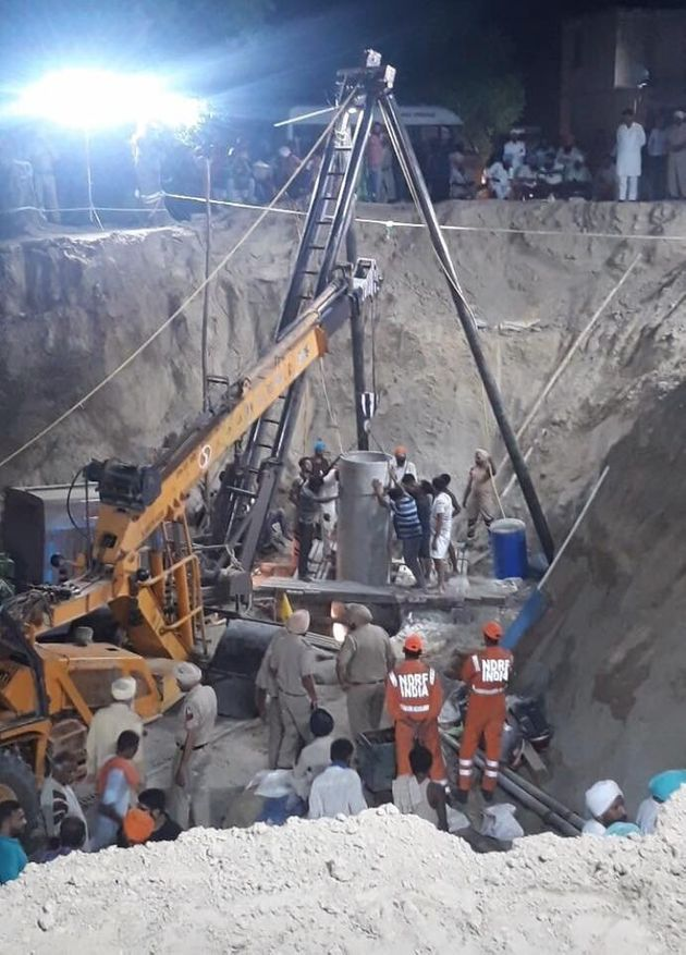 Inside The Complex Operation To Rescue Punjab Boy Who Was Stuck In Borewell For 109