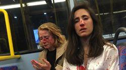 ロンドンで暴行受けた女性カップルが当時の写真を公開「暴力が常態化してしまっている」