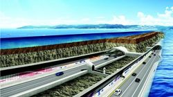 세계에서 다섯번째로 긴 6.9㎞ 길이 '보령해저터널'이
