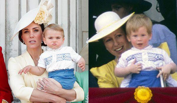 La maglia di Louis è quella indossata da Harry bambino. Kate ricicla ancora e omaggia Lady