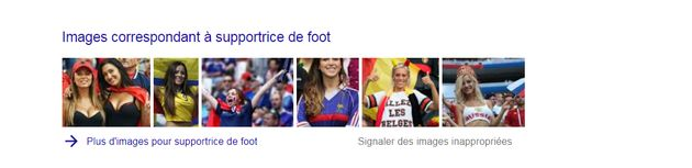 Quand on tape sur Google