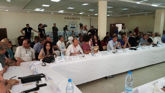 La réunion des représentants de la société civile se clôture sans accord