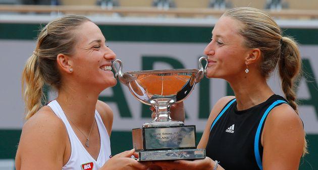 Roland-Garros: Mladenovic sacrée en double dames avec