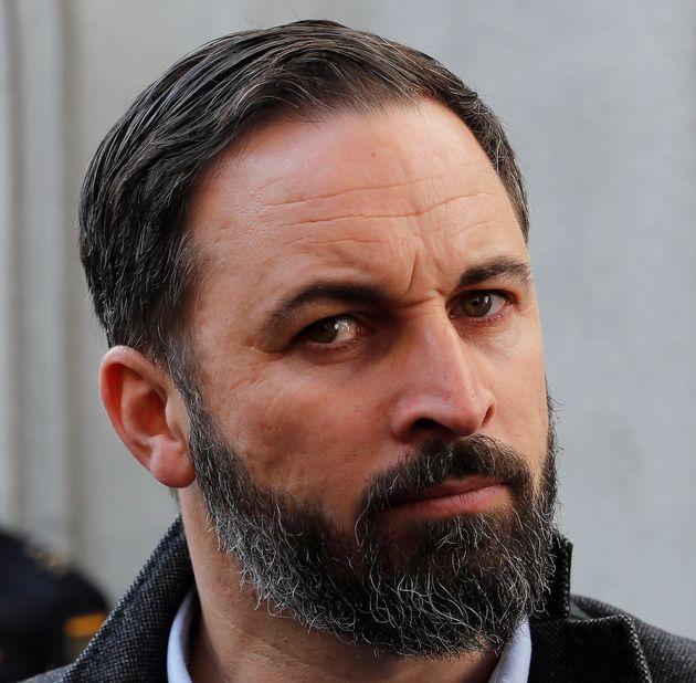 Santiago Abascal, líder de la formación ultraderechista