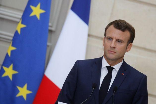 Emmanuel Macron à l'Élysée le 7 juin 2019 (phot