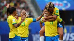 Cristiane BRILHA e Brasil vence Jamaica por 3 a