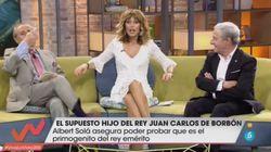 El comentario de Jaime Peñafiel sobre el rey Juan Carlos que ha dejado con esta cara a Emma