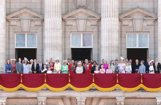 The Royal Family gathered for the annual Trooping the Colour celebration on June 8, 2019. Spot the