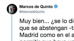 Marcos de Quinto (Cs) responde a las críticas de Valls:
