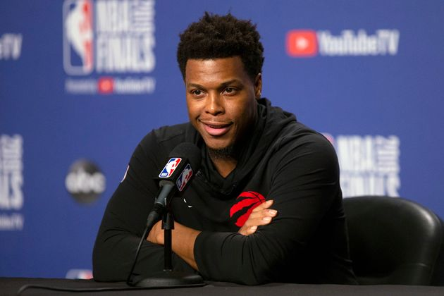 Toronto Raptors' Kyle Lowry after practice in Toronto on Sunday, June 9,
