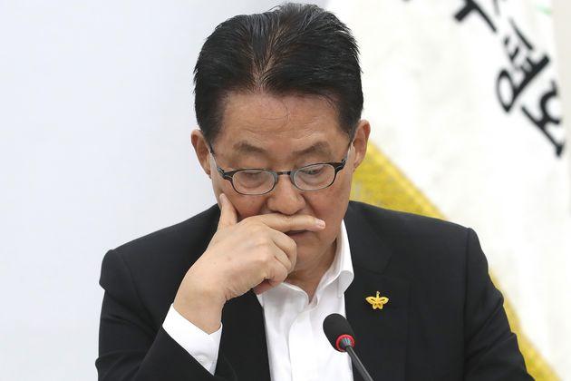 박지원이 홍문종 '대한애국당 입당' 시사 발언에 황교안을
