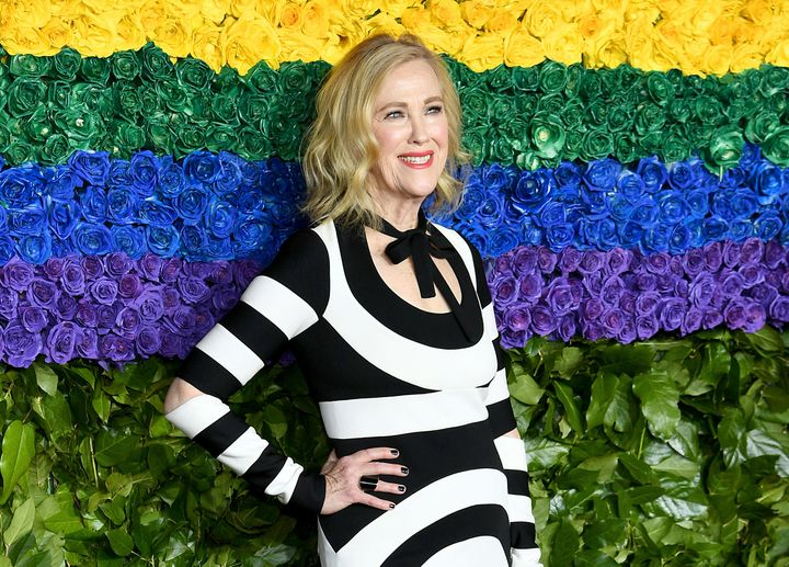 Catherine O'Hara attends the 73rd Annual Tony Awards at Radio City Music Hall on June 09, 2019 in New York City.