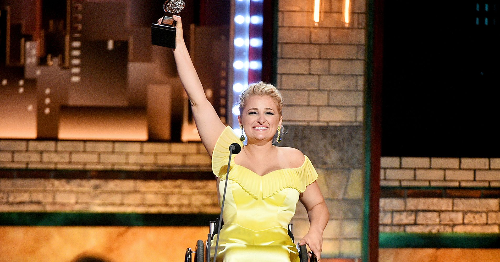 Ali Stroker Makes History As First Wheelchair User To Win Tony Award