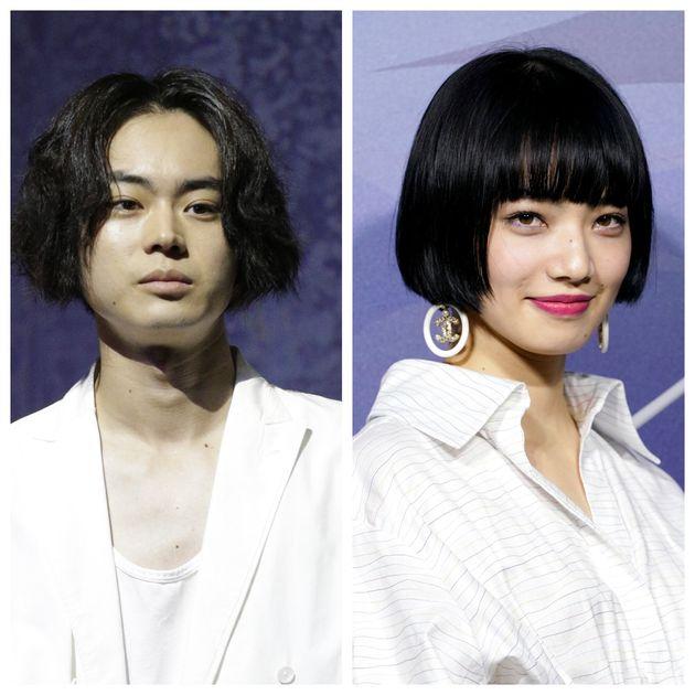 映画『糸』で主演を務める俳優の菅田将暉さんと女優の小松菜奈さん