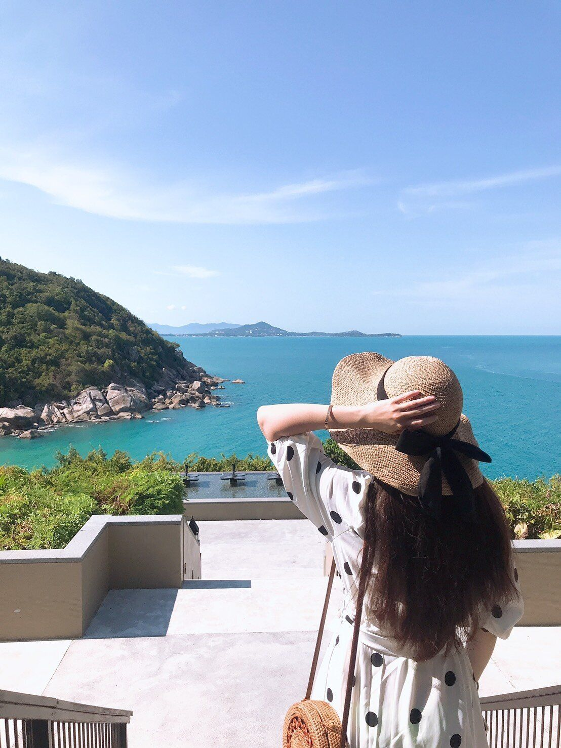 ▲對於這次安排的住宿,林采緹非常滿意,更極力推薦悅榕莊度假村。