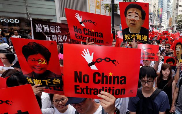 A Million People Marched In Hong Kong To Protest China's New Extradition