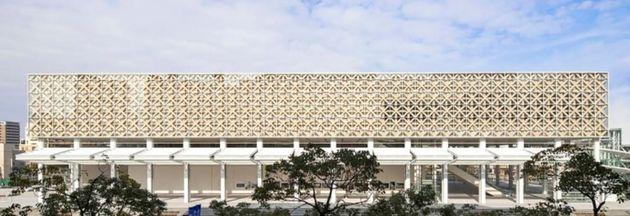 반 시게루의 종이 건축은 이렇게 아름다운 건물로도 구현된다. 일본 오이타 현립 미술관