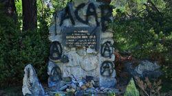 Castaner dénonce la dégradation d'une stèle à la mémoire de