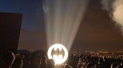 Un Bat-signal illuminera le ciel de Marseille tout