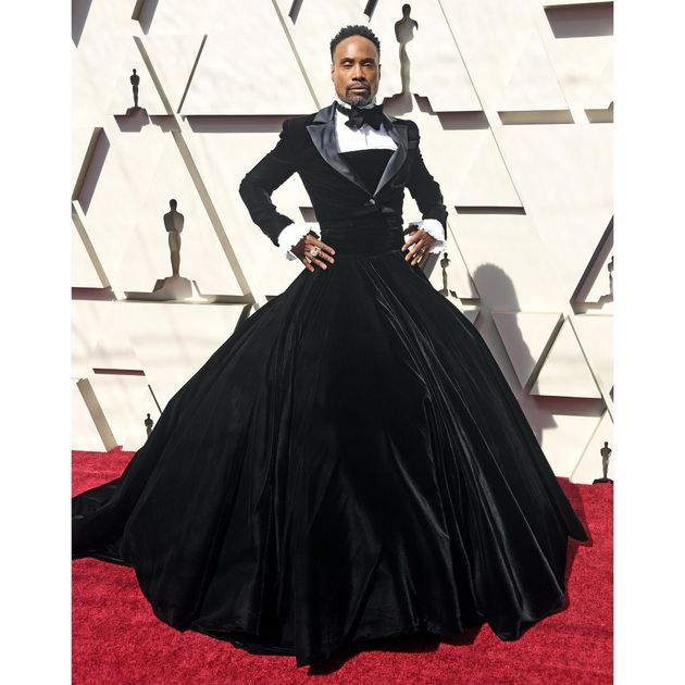 La robe smoking de Billy Porter aux Oscars