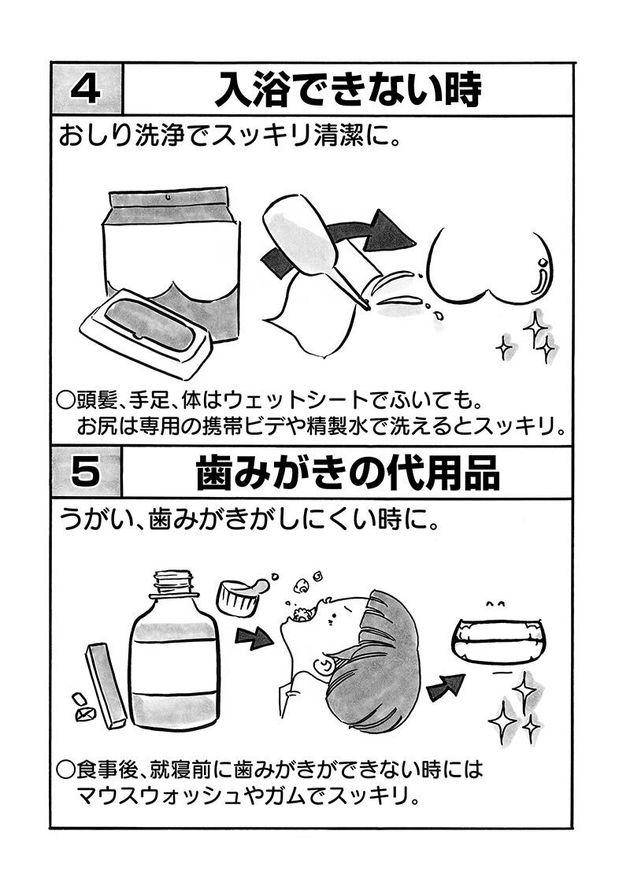 歯磨きの代用