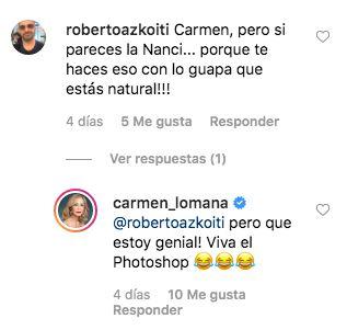 Acusan a Carmen Lomana de exceso de Photoshop y su respuesta es