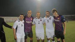Les légendes du FC Barcelone et les stars du football national réunies à Mohammedia