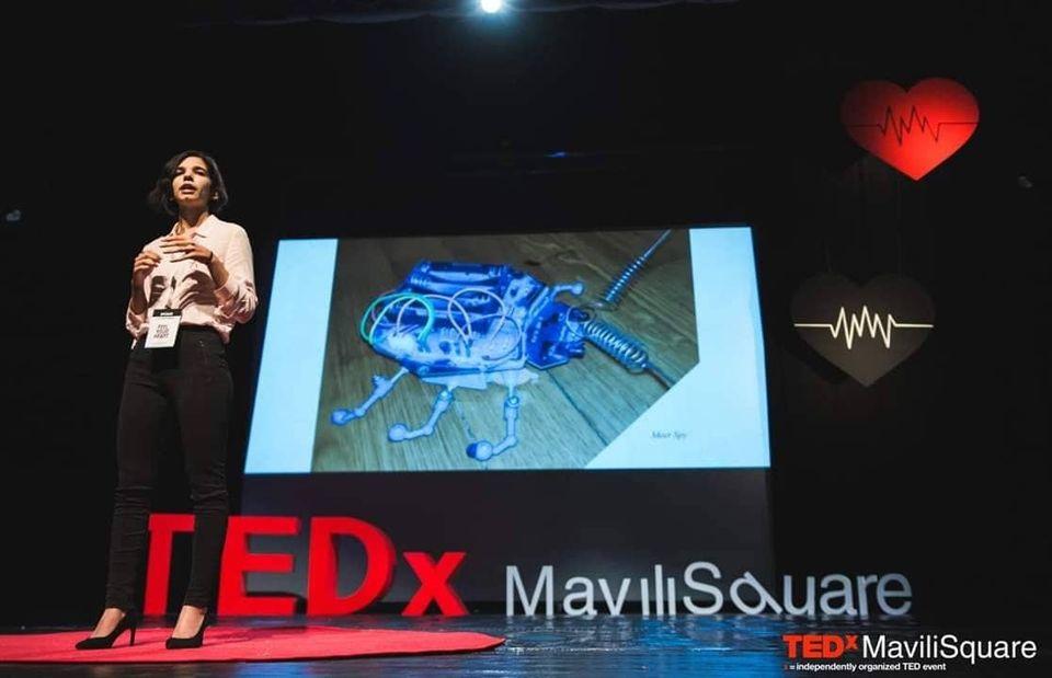 Η ελληνίδα «Robo Woman» μιλά για το μέλλον της