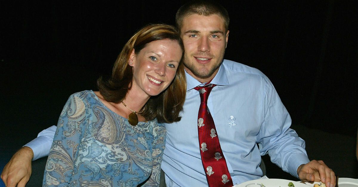 Ben Cohen with his ex-wife, Abby Blayney (Getty)