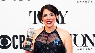 NEW YORK, NEW YORK - JUNE 09: Rachel Chavkin poses in the press room during the 2019 Tony Awards at Radio City Music Hall on June 09, 2019 in New York City. (Photo by Sean Zanni/Patrick McMullan via Getty Images)