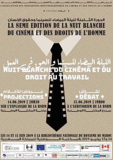Le droit au travail au coeur de la 8e Nuit blanche du cinéma et des droits de