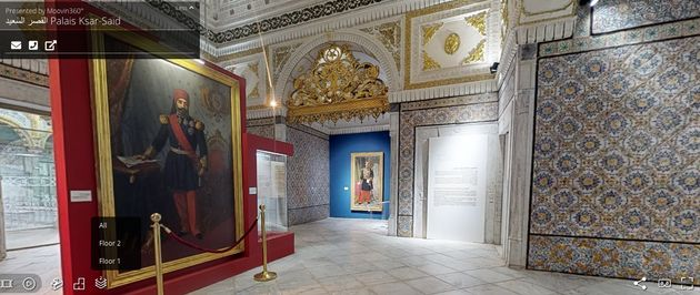 Découvrez le palais de Ksar Said en visite