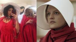 Kylie Jenner Threw A 'Handmaid's Tale'-Themed Party And The Internet Said