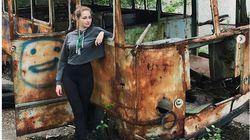 Στο Τσέρνομπιλ influencers για μια φωτογραφία στον τόπο της