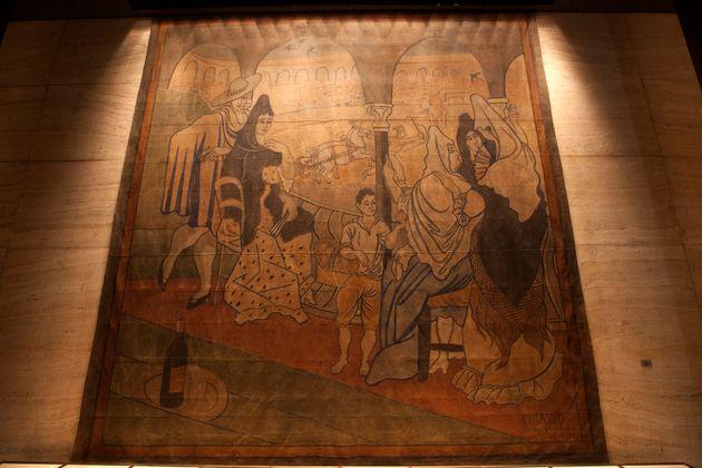 Il Tricorno di Picasso, spostato dal Four Seasons nel